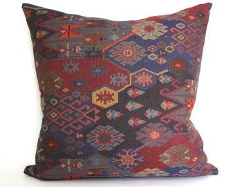 Southwest Global Ethnic Upholstery Fabric Throw Pillow Cover Decorative Pillow Floor Cushion Euro Sham 26x26 24x24 22x22 20x20 18x18 16x16