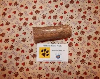 """Organic Large Elk Antler Dog Chew """"Made in Montana"""" (Lot C21)"""