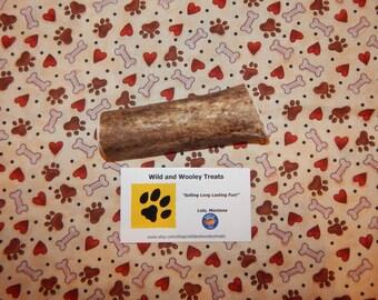 """Organic Large Elk Antler Dog Chew Split """"Made in Montana"""" (Lot C31)"""