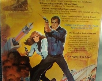 1983 James Bond 007 Role Playing Game.  Victory Games.  Basic Set.  Y-089