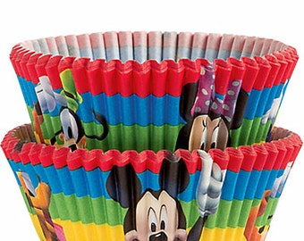 Mickey Mouse Cupcake Liners/ Cupcake Papers/ Baking Cups