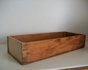vintage wooden display box . wooden assemblage box . wooden rustic box . farmhouse decor vintage shadow box vintage display box . wooden box