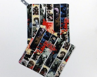 Walkind Dead Pot Holders Set of 2