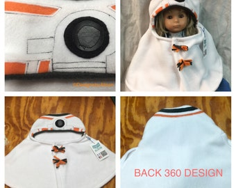 BB8 Andriod Baby Capelet Infant Costume