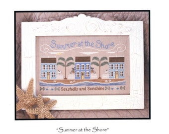 Country Cottage Needlework: Summer at the Shore - Cross Stitch Pattern