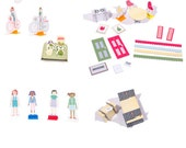 DIY Paper Crafting Dollhouse Furniture & Accessories