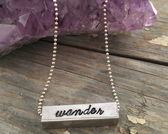 Wander and Fly Away Necklace