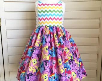 Applewood Dress -- Size 4T -- My Little Pony