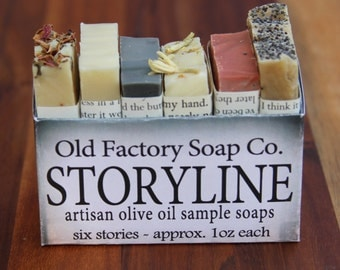 Artisan Perfumed Olive Oil Soap Sampler