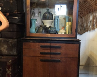 Looking 4 Love Storage and Display and Rare C. 40s Medical Cabinet Apothecary
