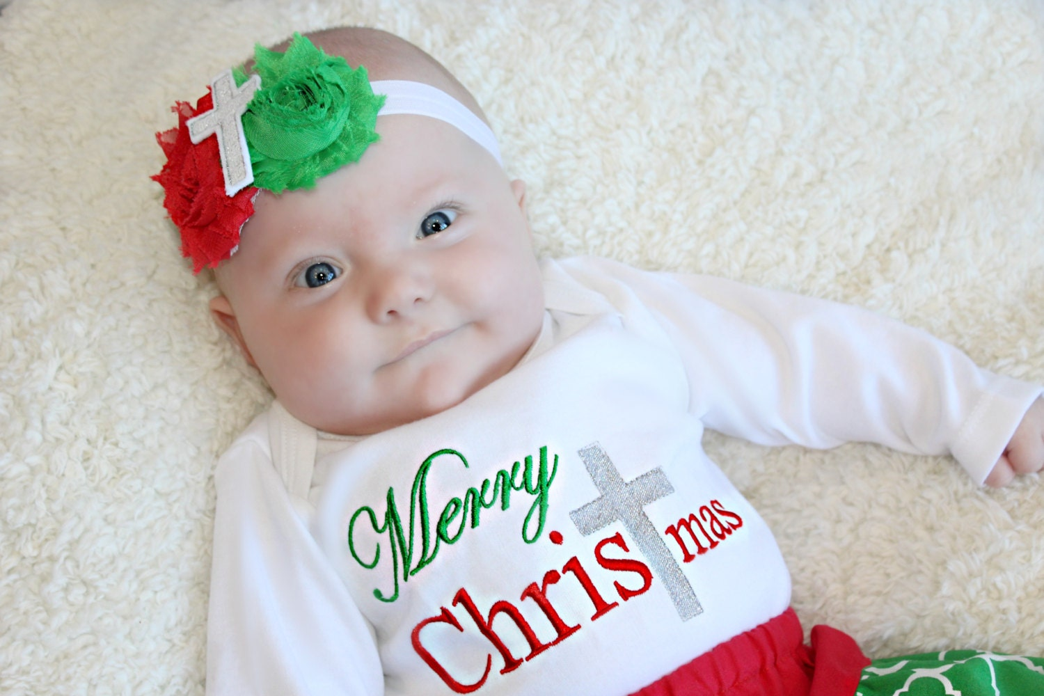 Girl Christmas Outfit Baby Toddler Christmas Outfit Merry