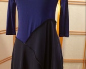 Royally Fun! Fitted funky tunic! Size small to medium
