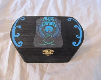 Alice In Chains Black and Blue Keepsake Stash Box