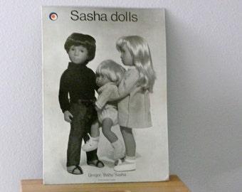 Vitnage Sasha Doll Store Advertising Display Poster Photograph Toys