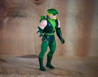 4GB Green Arrow USB flash drive vintage kenner 1980s '80s action figure comic book superhero valentine's day gift geeky boyfriend girlfriend