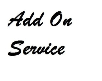 Add on service for Applique