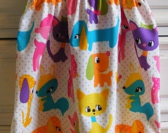 Plus Puppies  Shirred Dress (12 mos, 18 mos, 24 mos, 2T, 3T, 4T, 5, 6)