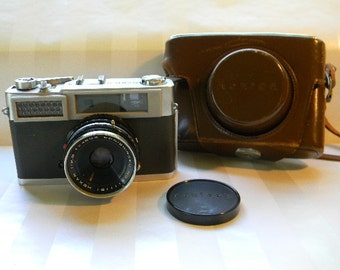 CAMERA, Konica S Camera with Carrying  Case, 45mm Lens
