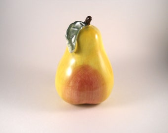 Pear for Kitchen sink Holder Yellow