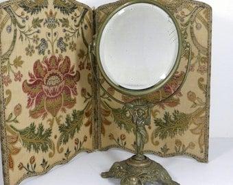 Vintage Swivel Cast Mirror Victorian/Art Nouveau/Art Deco
