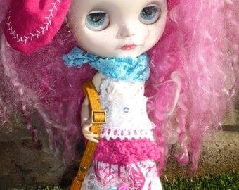 Blythe Hot Pink BOHO Outfit (BD17716)