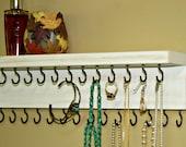 Jewelry Holder/ On Sale Necklace Holder/ Jewelry Organizer/ Necklace Storage/ Shabby/ Baby Headband Holder