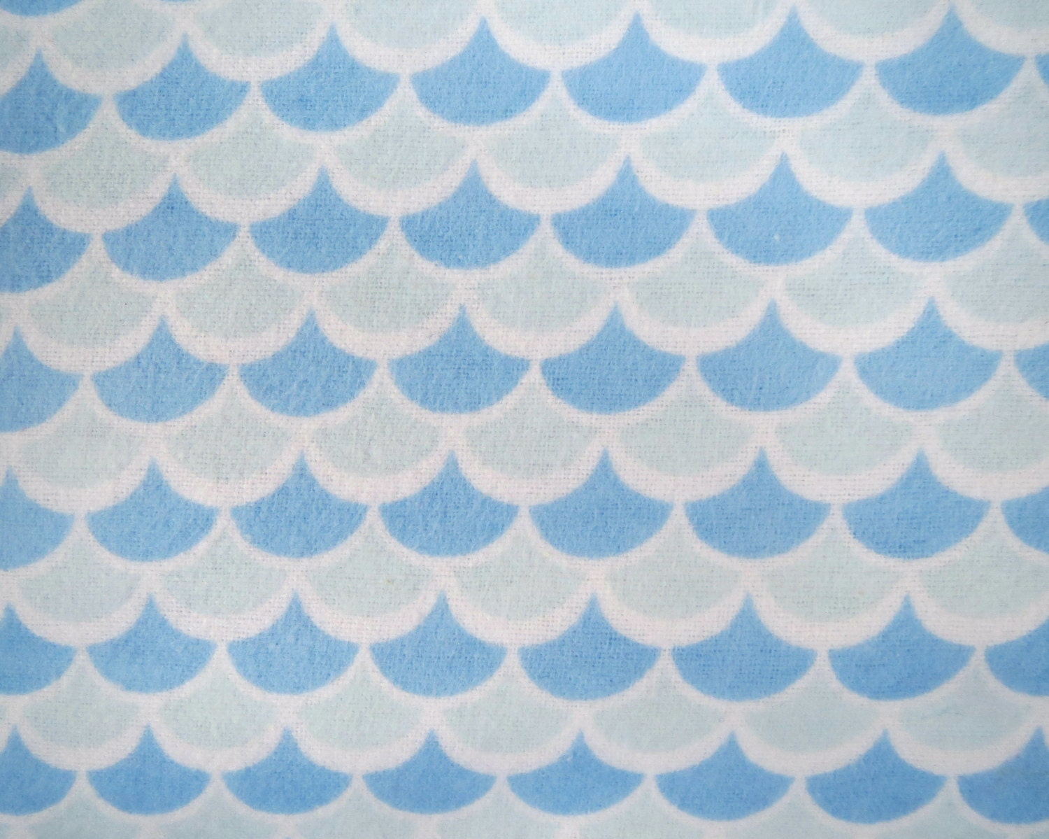 Flannel fabric by the yard in a fun baby blue on by for Baby fabric by the yard