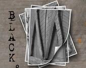 LETTER M Alphabet Photography LETTERS - Black and White Alphabet Photos