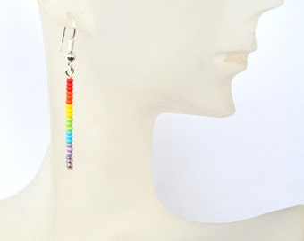 Rainbow Earrings - Free Shipping