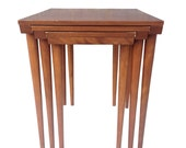 Set of 3 nesting tables by Wright for Conant Ball