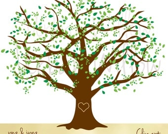 Clipart Tree Clipart Elm Tree Graphics White Oak Maple Tree