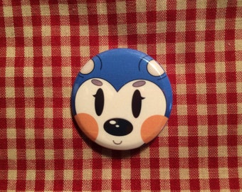 Mabel (Animal Crossing) Button