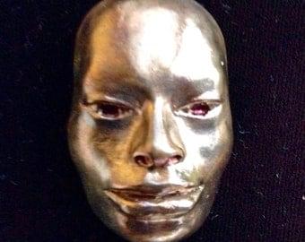 Afroasian Mask Pendant, Faces 7