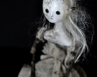 OOAK Art Doll - Spring Offering