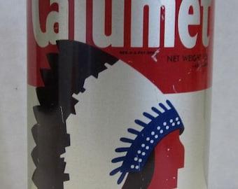 Vintage Calumet Baking Soda Tin