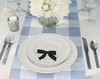 Choose your Table Runner, Country Rustic Table Runner, Farmhouse Table Runners, Table Runner Check - 3 Color Options
