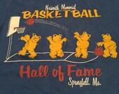 Vintage Nasmith Basketball Hall of Fame T-Shirt