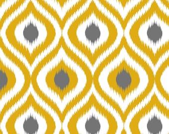 Diamond Ogee Yellow Custom Saddle Cover