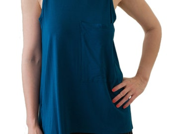 Tank Top with Large Pocket