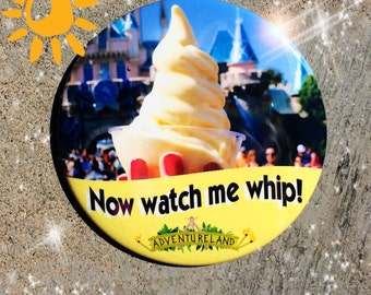 "Disney Dole Whip 3"" Button"