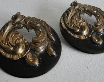 Vintage antique look earrings