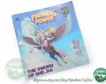 1980s Book She Ra Princess of Power Sword of She Ra Paperback