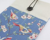 "Laptop Case, 13"" MacBook Case, 13"" MacBook Air Case, 13"" MacBook Pro Case, PADDED, with 2 pockets - Sparrows"