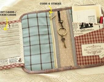 PDF SEWING PATTERN Story book like passport holder | Passport holder | Travel wallet | travel purse | Travel organizer pattern