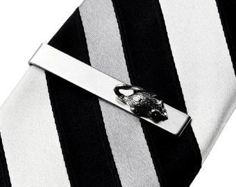 Mouse Tie Clip - Tie Bar - Tie Clasp - Business Gift - Handmade - Gift Box Included