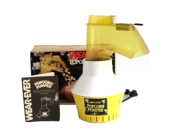 Wearever Popcorn Pumper Hot Air Corn Popper Coffee Roaster Model 73000