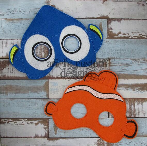 Finding Nemo Masks Set...