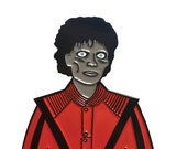 Michael Jackson Zombie Thriller Jacket enamel pin