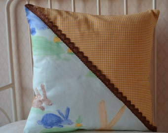 Adorable cushion for a child room