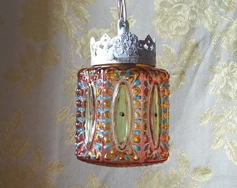 moroccan inspired lighting. gypsy lighting moroccan inspired bejeweled pendant